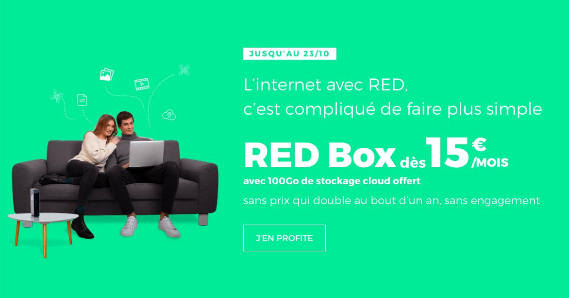 la box de RED by SFR