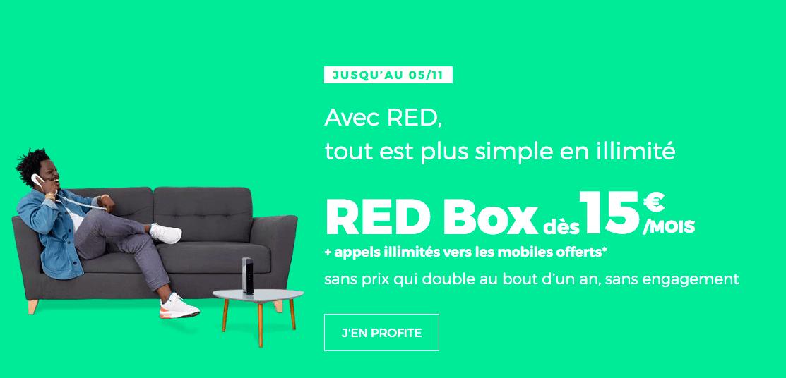 la box de RED