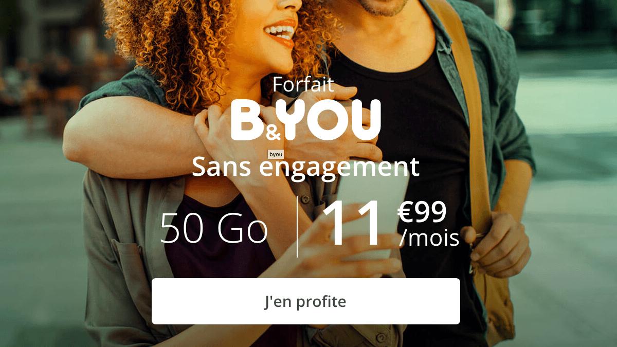 L'offre b&YOU 50 Go encore disponible.
