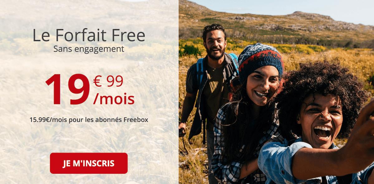 Le forfait 100 Go de Free mobile
