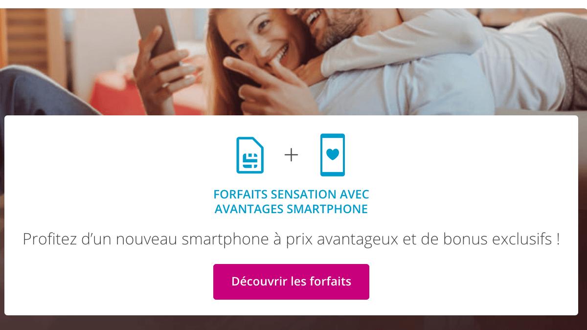 Forfait Bouygues Telecom avantages smartphone.
