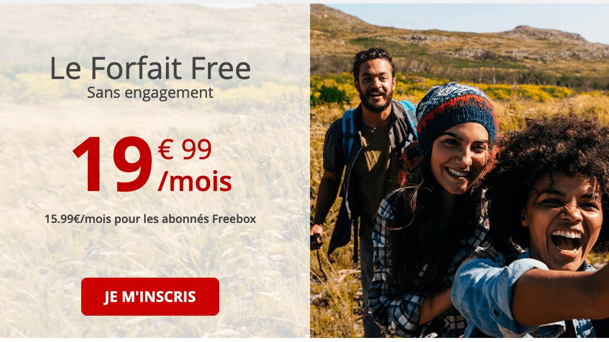 Forfait Free 100 Go.