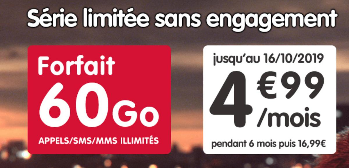 Prolongation forfait en promo de NRJ Mobile