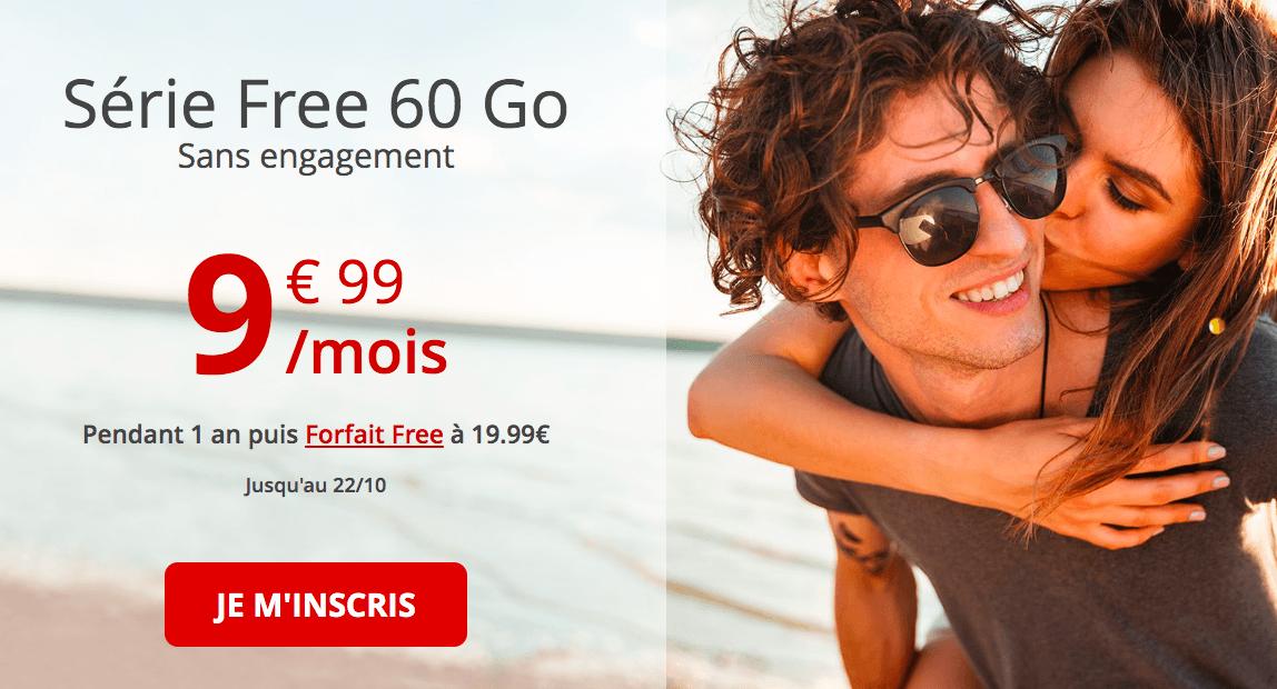 forfait free 60 Go