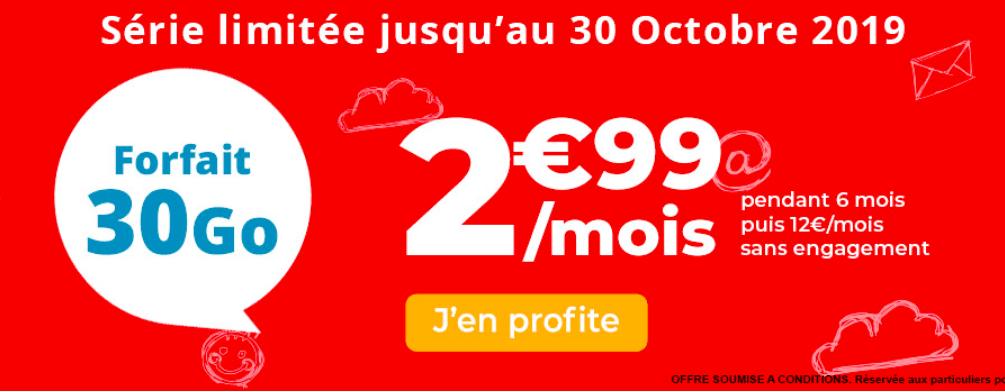 La forfait pas cher d'Auchan Telecom