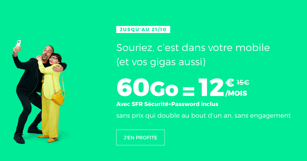 le forfait red 60 Go