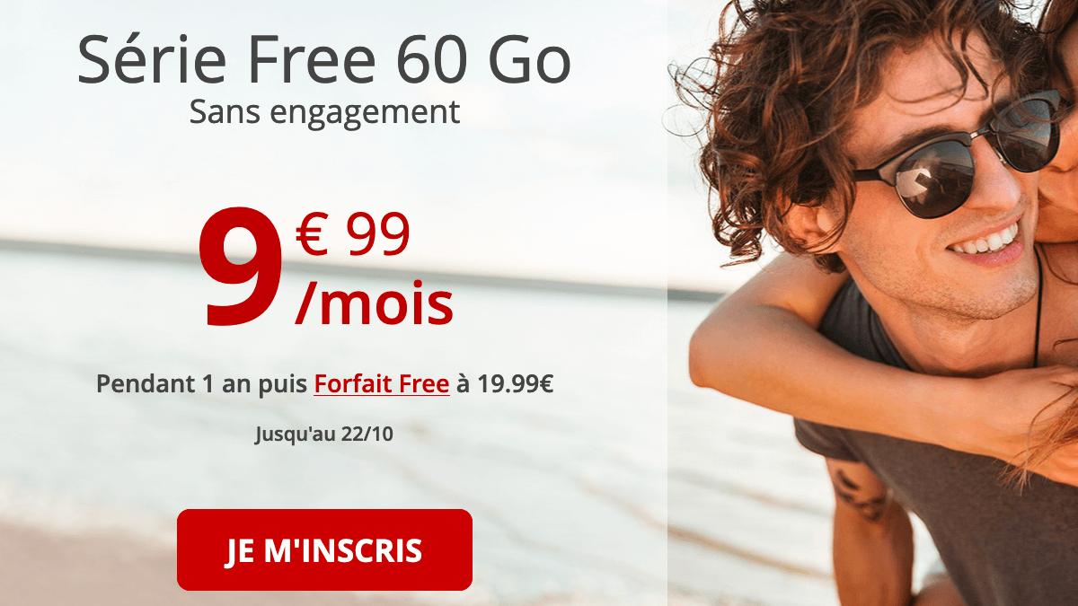 Free mobile forfait pas cher en promotion.