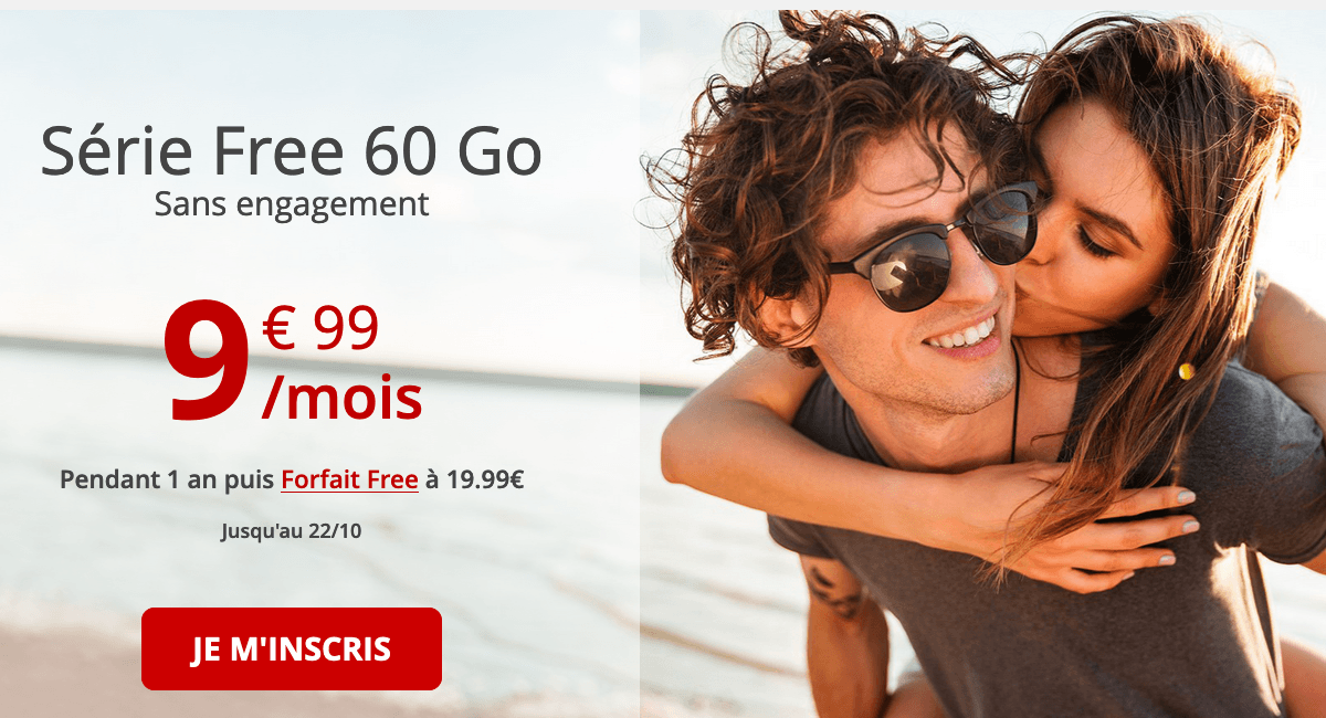 Série Free 50 Go promotion.