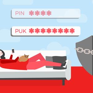code PUK NRJ Mobile.