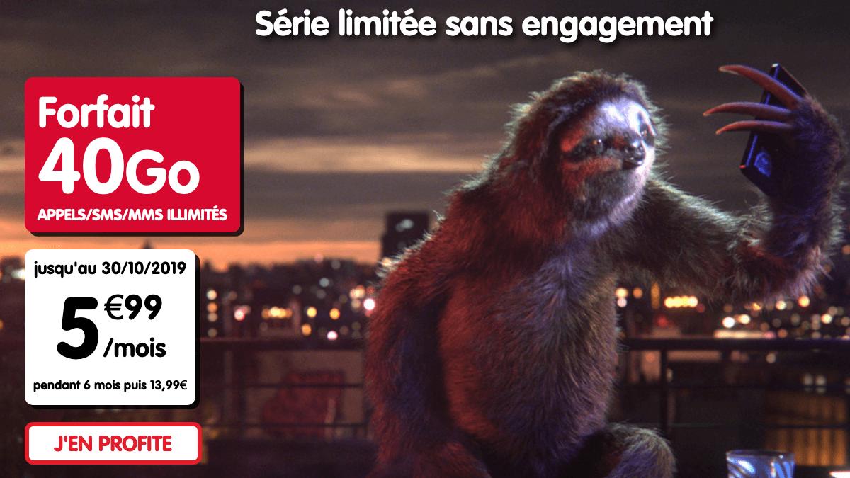 NRJ Mobile promotion forfait mobile peu onéreux.