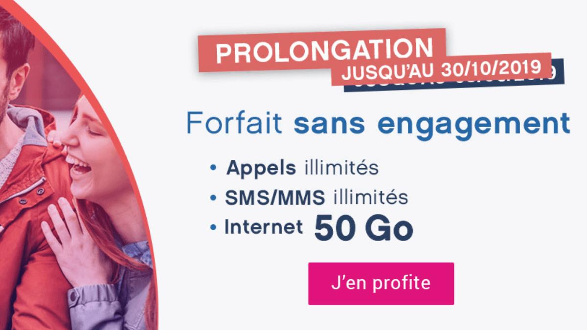 promo forfait 4G Coriolis Telecom.