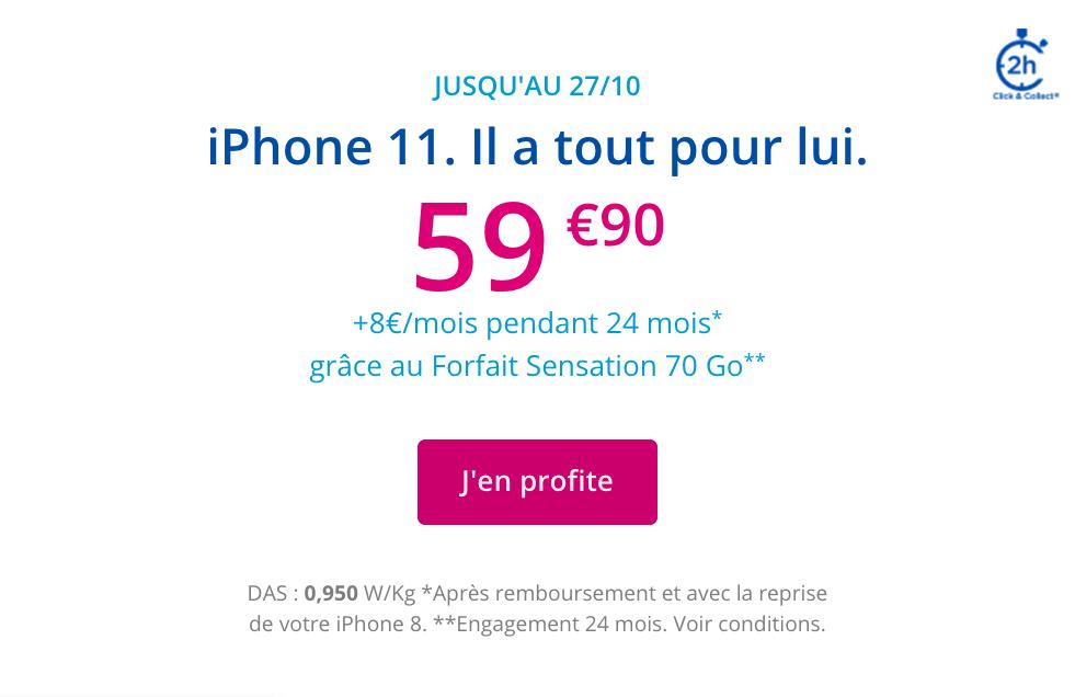 iphone 11 pas cher