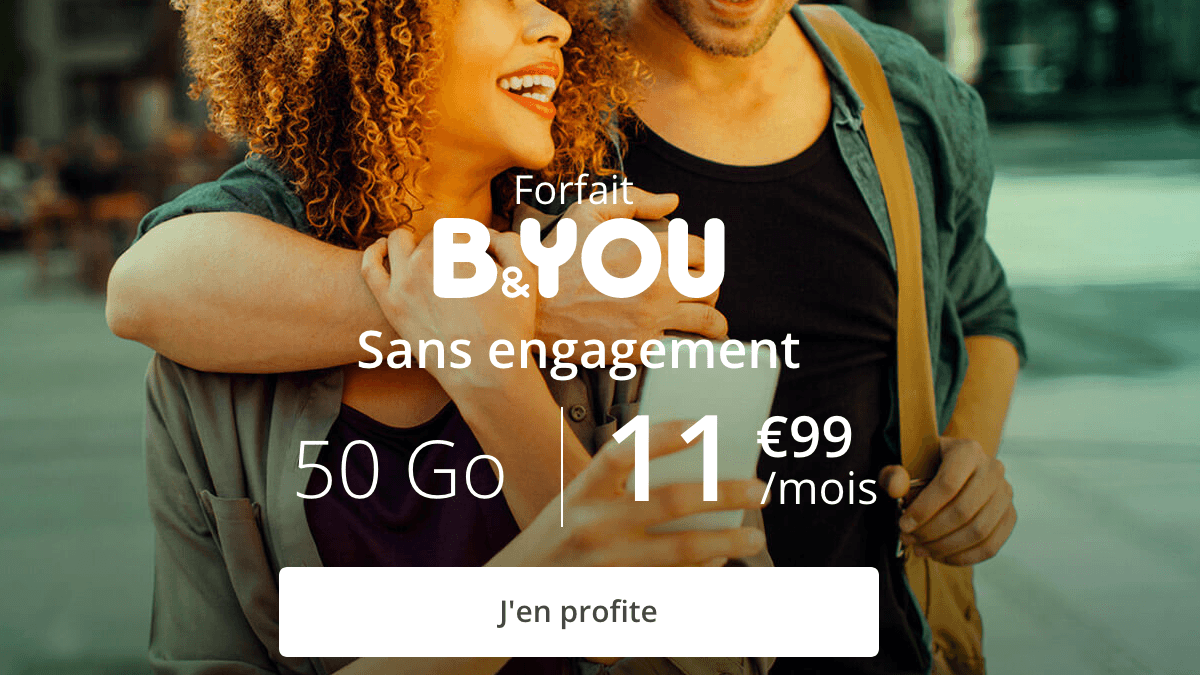 B&YOU 50 Go promotion.