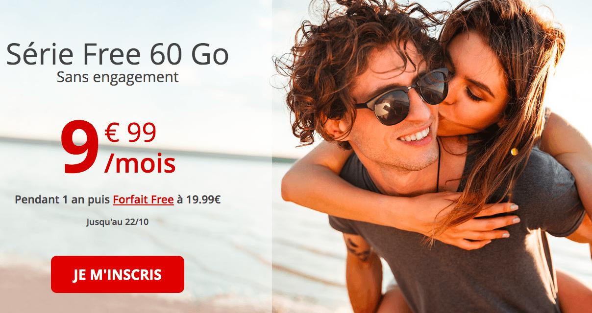le forfait free 60 Go