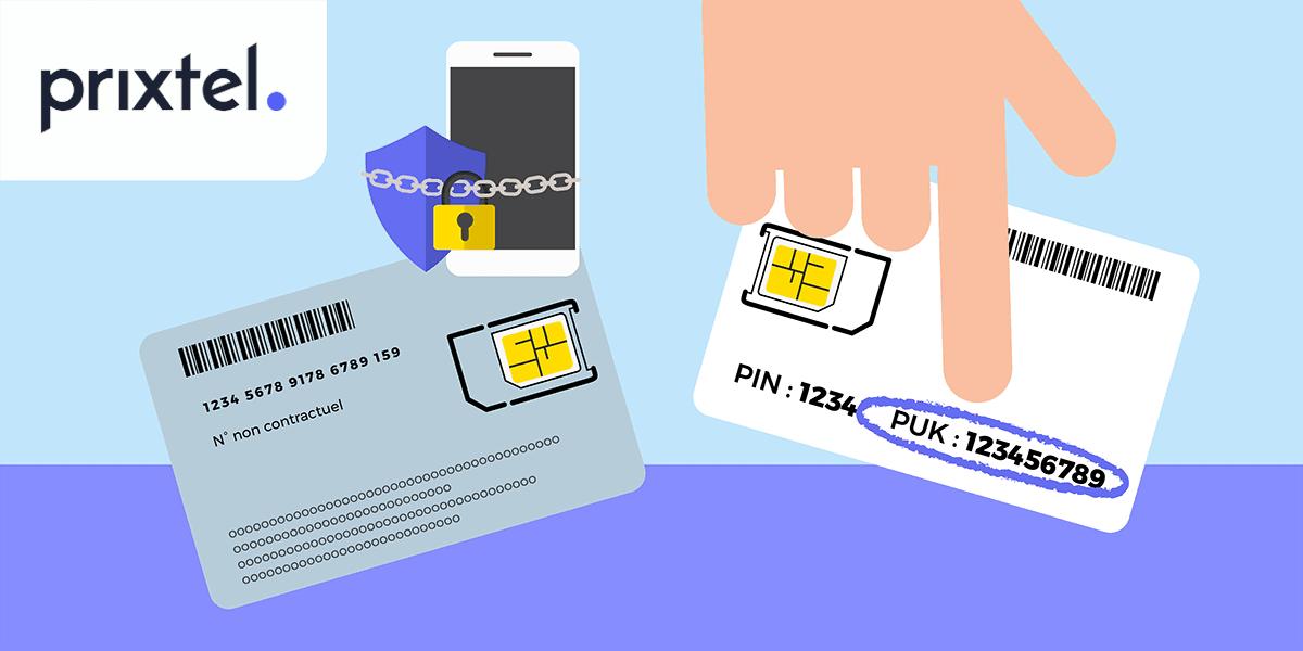 Code PUK support SIM.