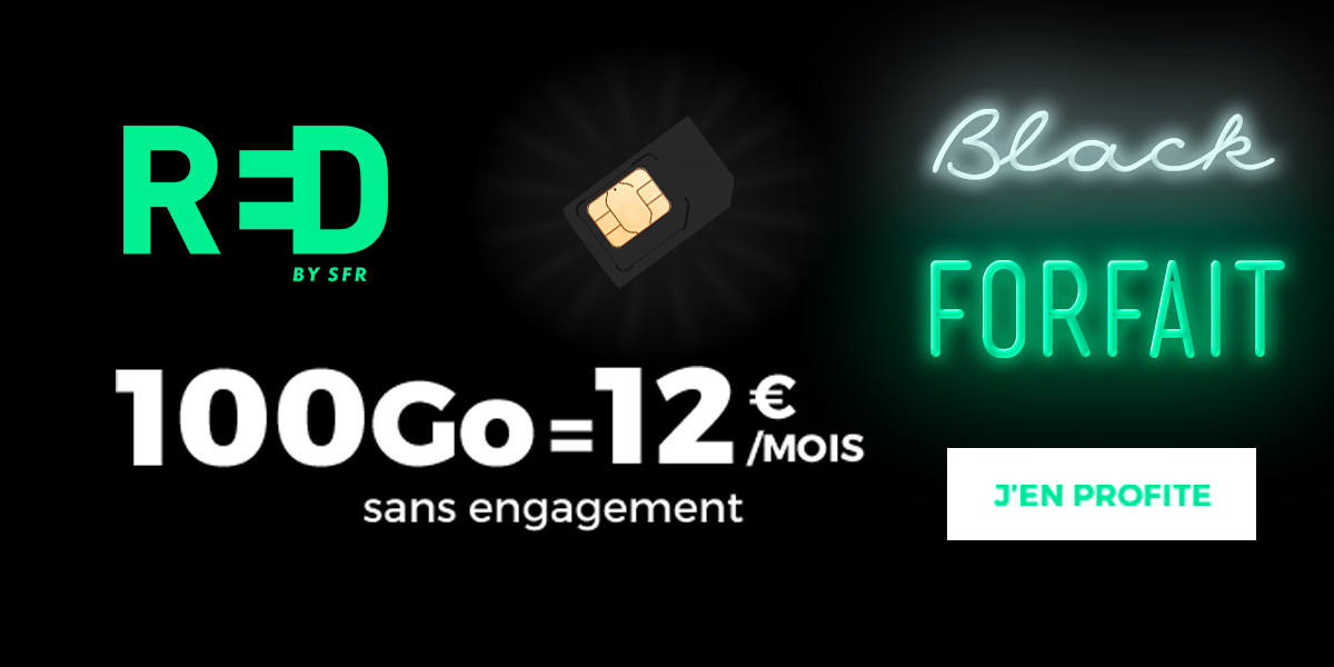 Forfait RED by SFR Black Friday