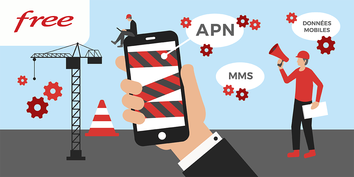 Configuration APN Free.