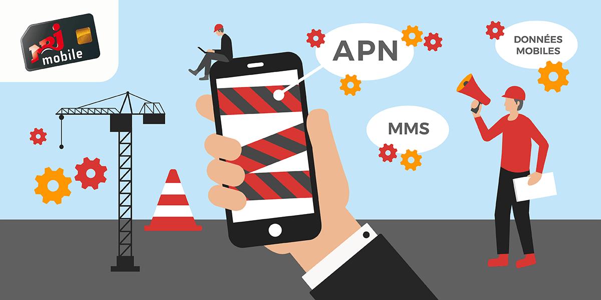 NRJ Mobile utilité configuration.