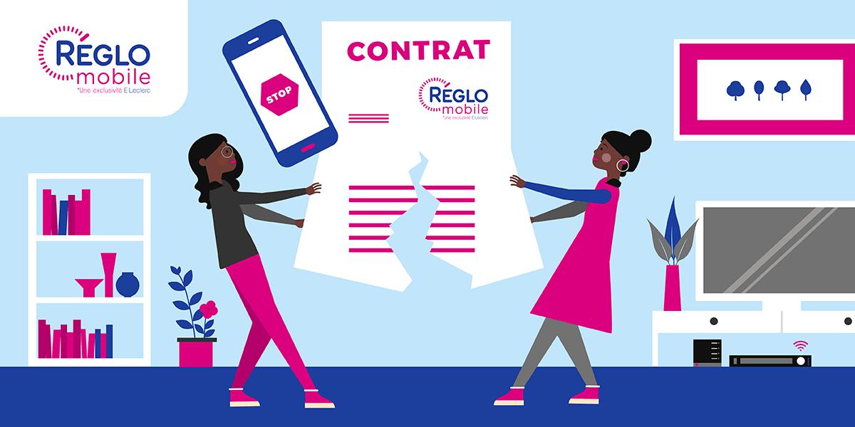 Résilier Réglo Mobile.
