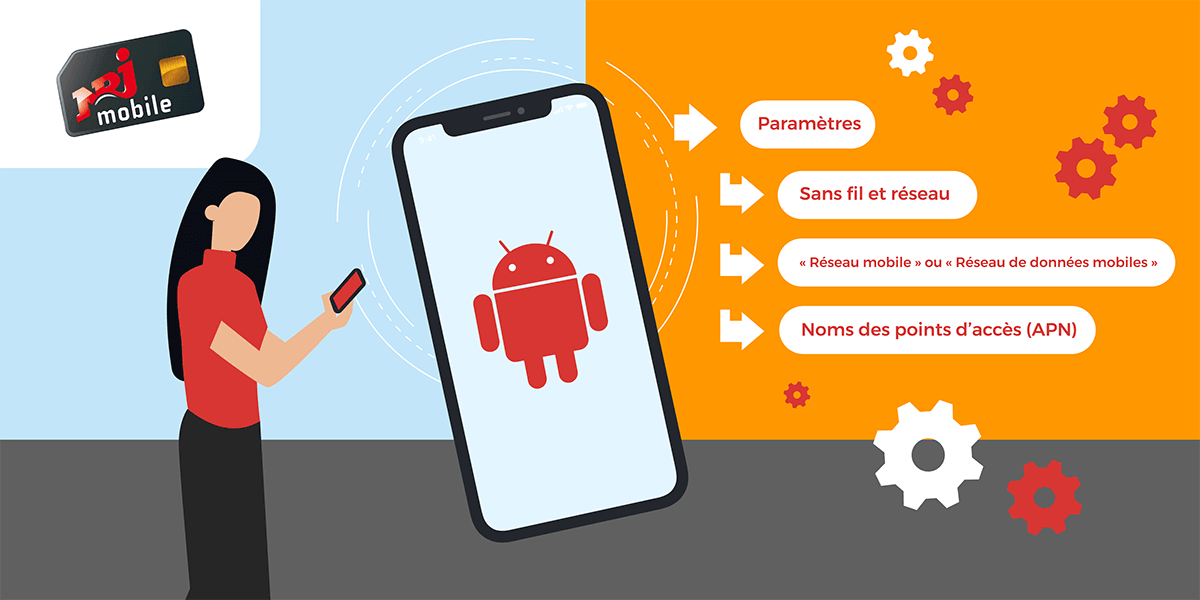 Android configuration APN NRJ Mobile.