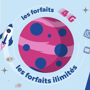Forfaits 4G et illimités chez Réglo Mobile.