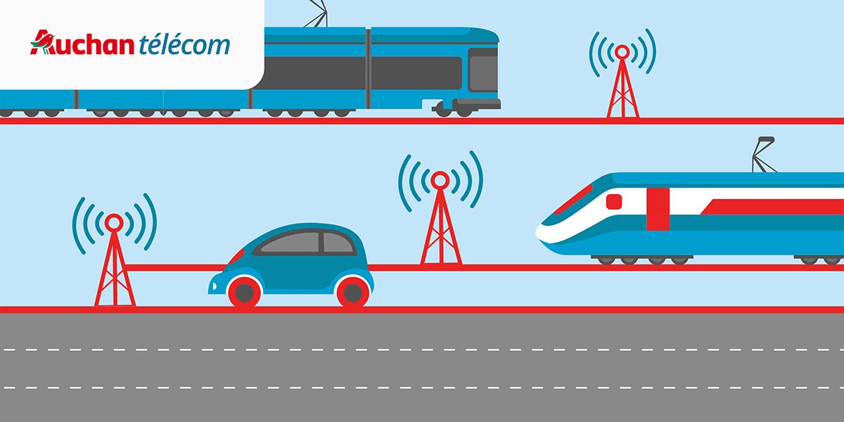 Quelle est la qualité des réseaux mobiles dans les transports.
