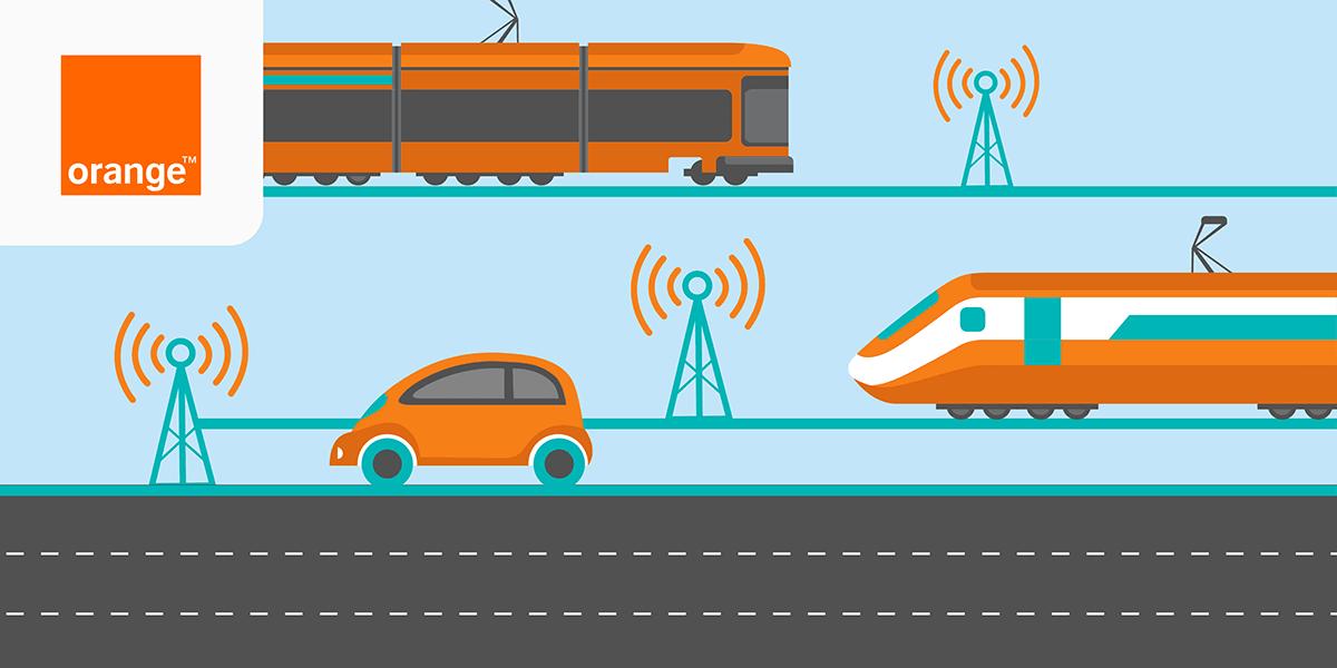 Qualité réseau mobile transports Orange.