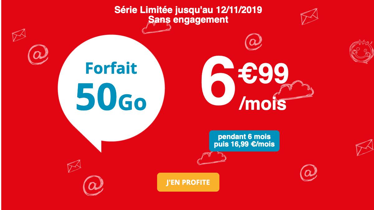 Promo Auchabn Telecom 50 Go.