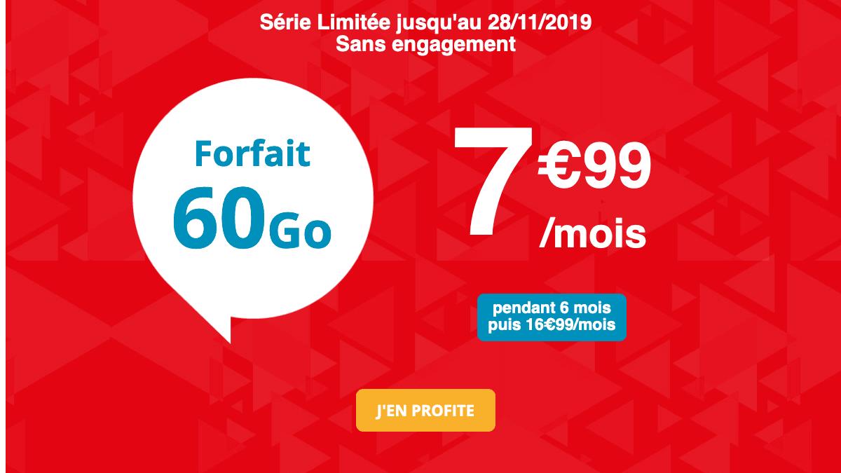 Promo forfait Auchan Telecom.