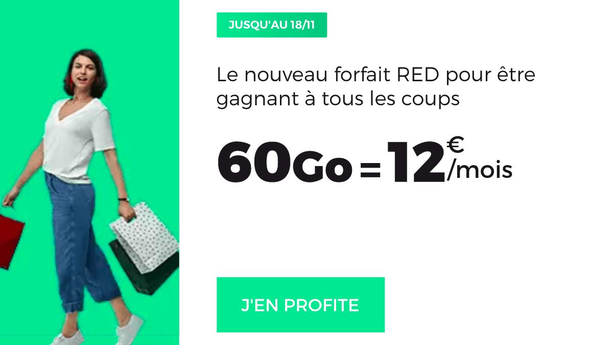 Dernier jour des promotions RED by SFR