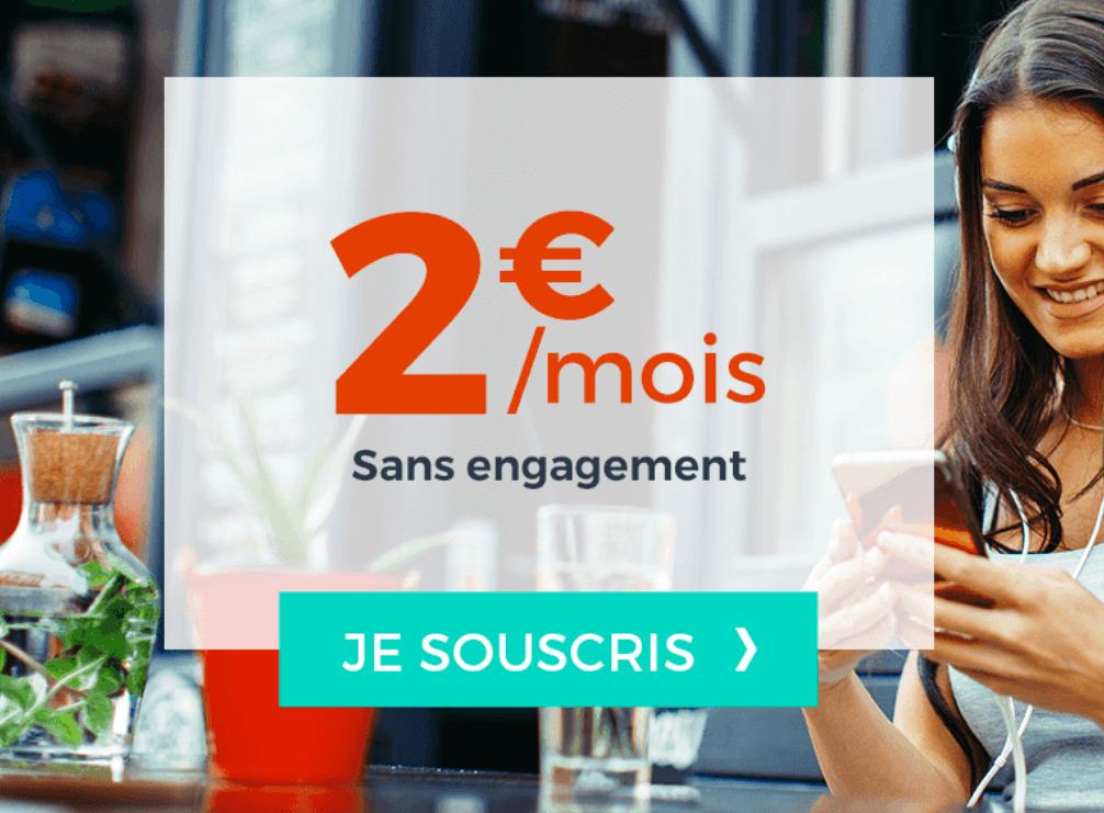Le forfait mobile à 2€ de Cdicount Mobile