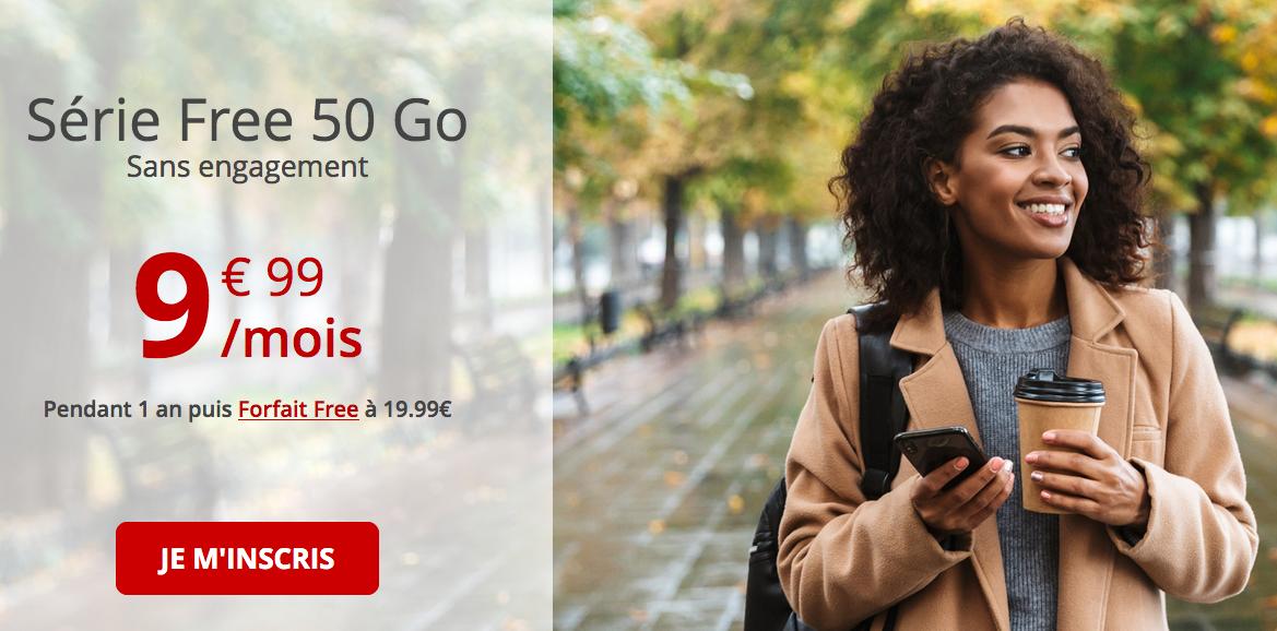 Le forfait 4G de Free mobile