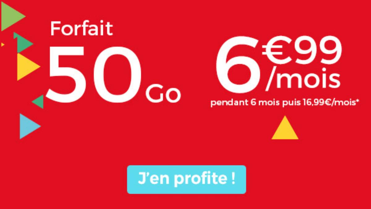 Le forfait pas cher d'Auchan Telecom disponible en ce moment