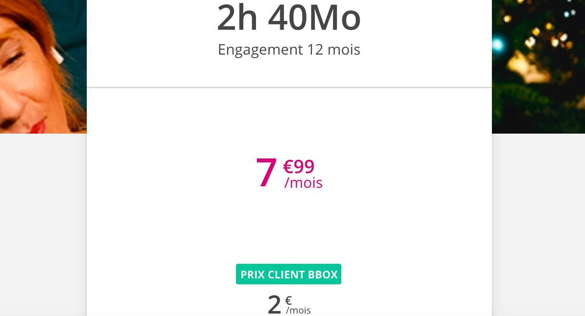 Le forfait le plus économique de Bouygues Telecom