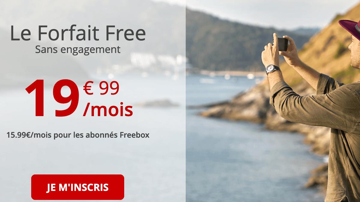 L'autre forfait 4G de Free mobile.