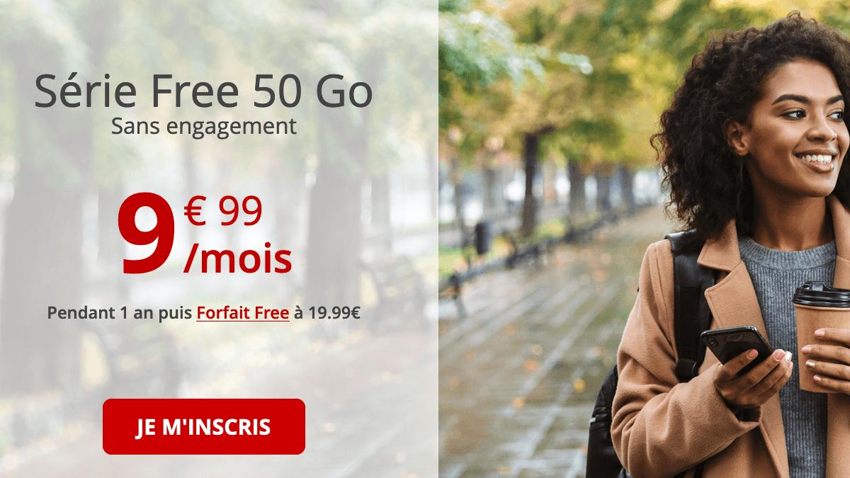 Forfait mobile pas cher et 4G chez Free.