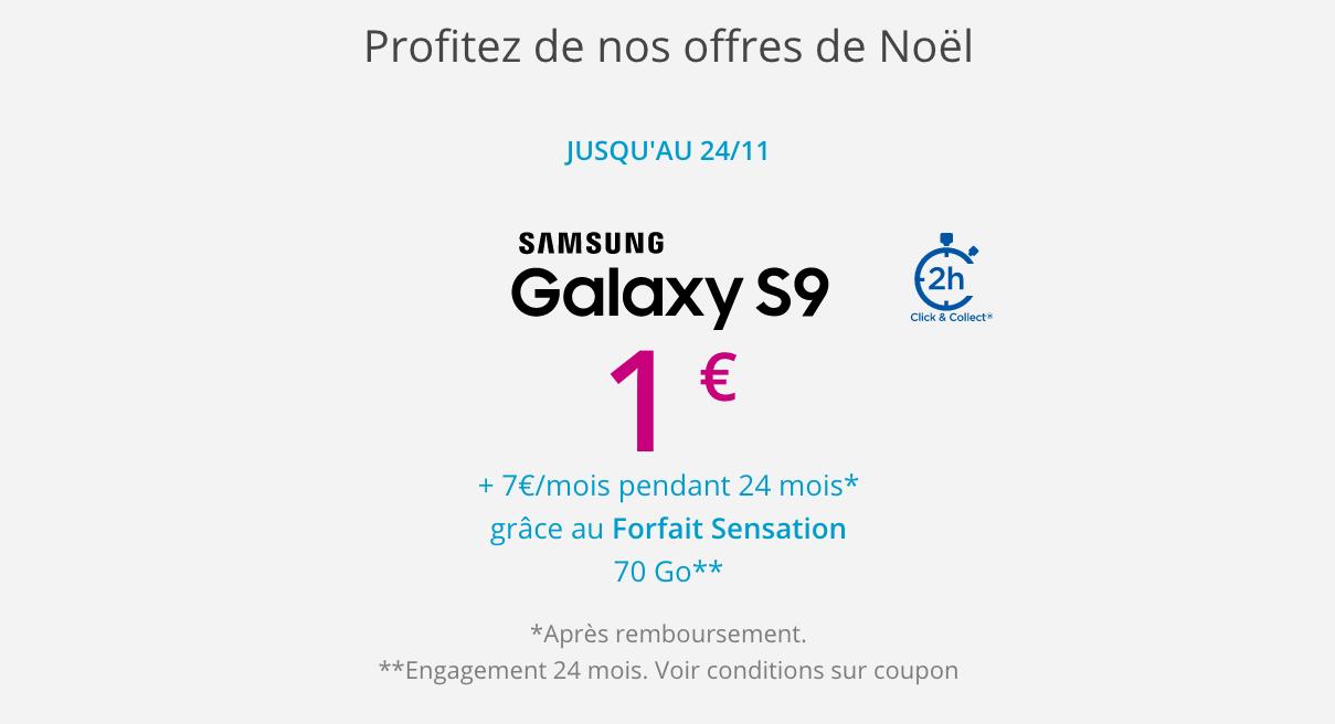 Galaxy S9 avec Bouygues Telecom