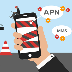 NRJ Mobile configurer un APN.