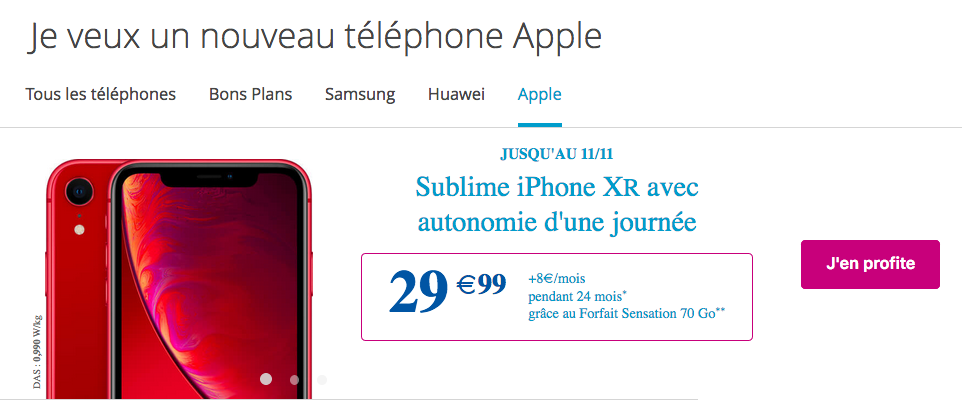 iphone pas cher bouygues
