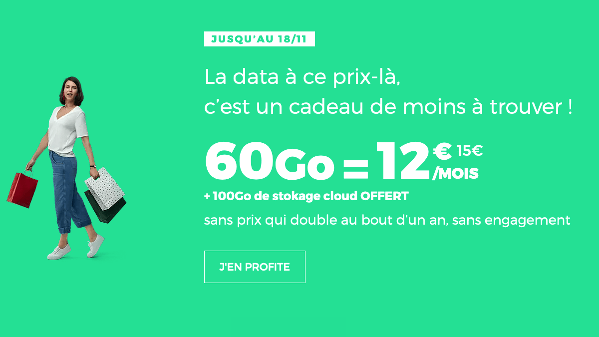Promo forfait sans engagement RED by SFR.
