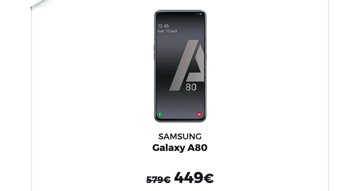 La promo RED by SFR sur les Samsung pour le Black Friday