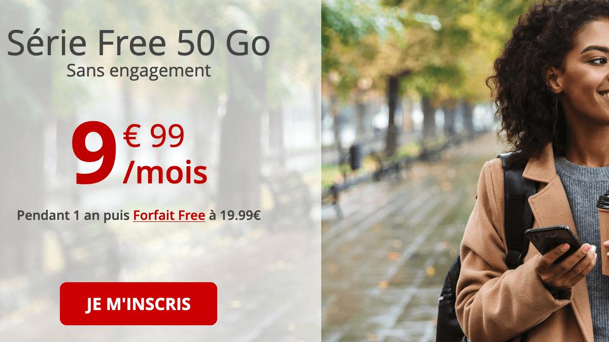 Forfait 4G à saisir chez Free.