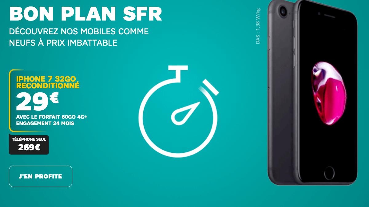 Promo SFR ipHone 7.