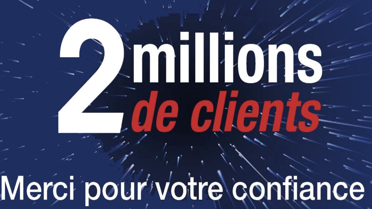 Un cap marquant pour EI Telecom avec 2 millions d'abonnés.