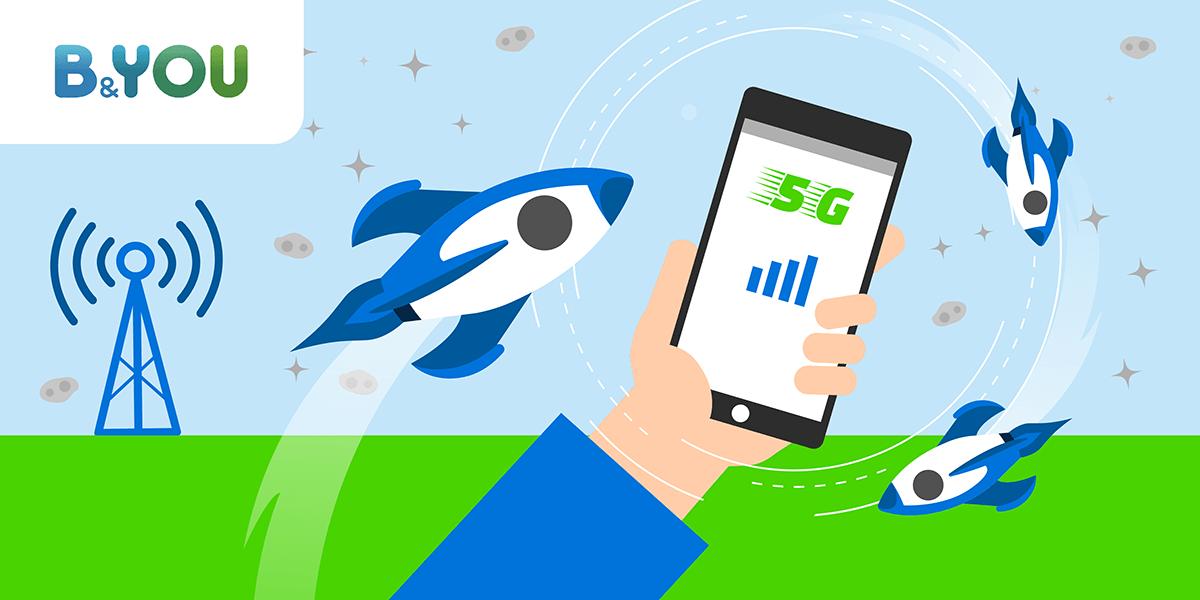 Forfait mobile 5G.