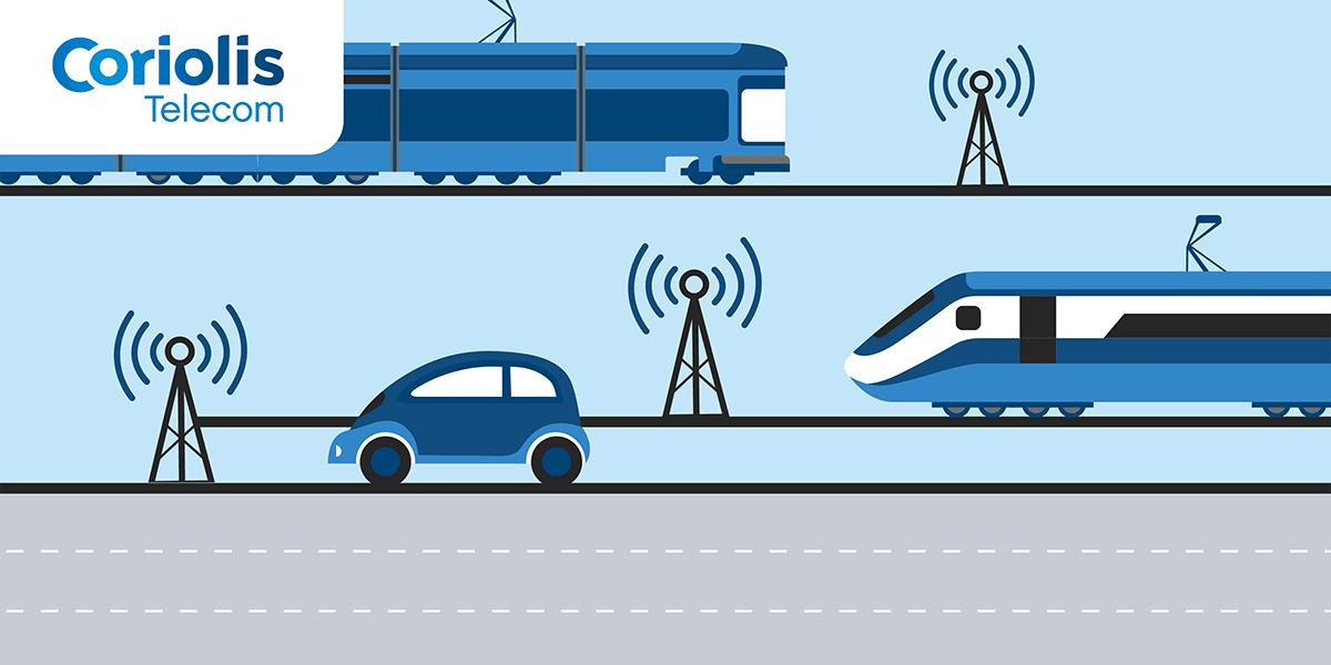 Qualité réseau mobile autoroute et train.