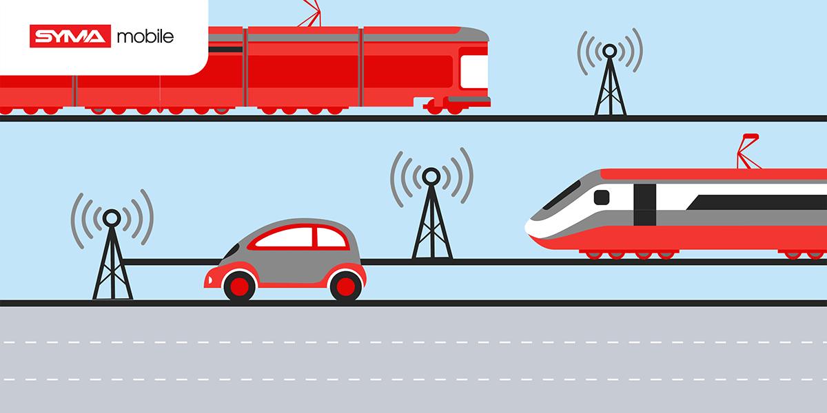 Quelle est la qualité du réseau Syma Mobile dans les transports ?