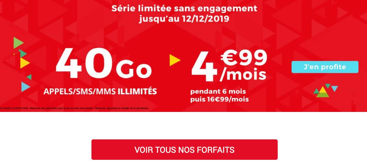 Auchan Telecom forfait pas cher.