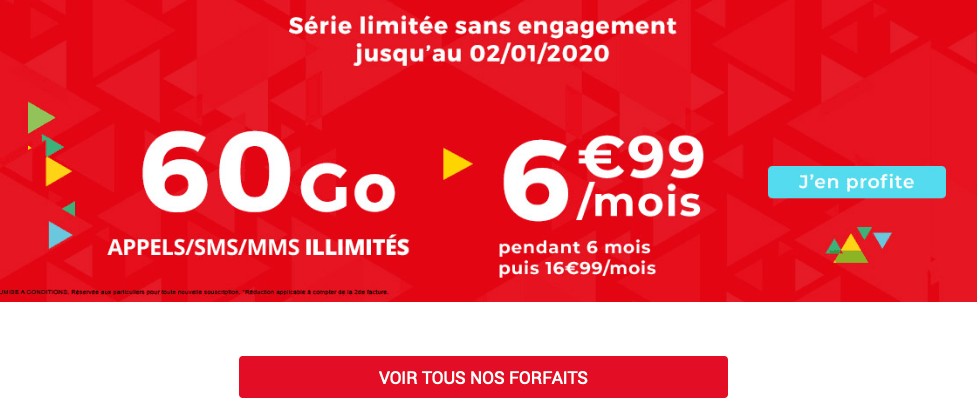 Auchan Telecom promo forfait pas cher.