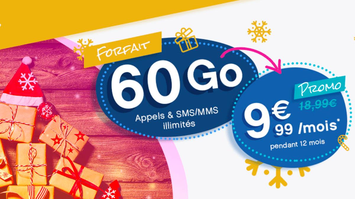 Coriolis Telecom, c'est un forfait sans engagement à 9,99€ pendant 12 mois.